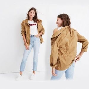 Madewell Prospect Jacket Tan Small